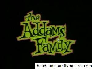 Pementasan Pada The Addams Family 1992 Televisi series cartoon